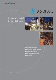 Design and Build Project Solutions - Bilfinger Berger Industrial ...