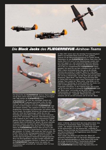 Die Black Jacks des FLiEGERREVUE-Airshow-Teams