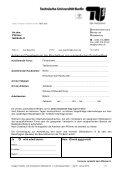 AUM - Sicherheitstechnische Dienste und Umweltschutz - TU Berlin - Page 6