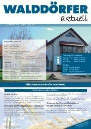 Ausgabe August 2013 - Gemeinde Sandberg