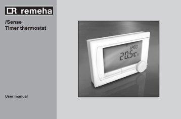 i Sense Timer thermostat - Remeha