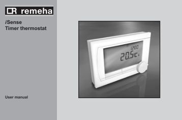 i Sense Timer thermostat - Remeha