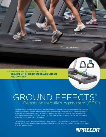 GROUND EFFECTs® - Precor