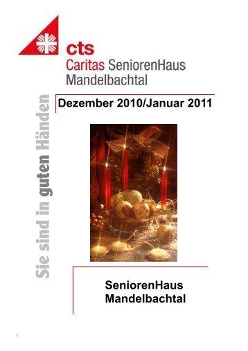 HZ Ormesheim Dezember 2010.pub - Caritas SeniorenHaus ...