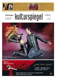Thüringen Kulturspiegel Januar 2013