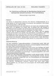ARTICULATA 1997 12(2) - Deutsche Gesellschaft für Orthopterologie