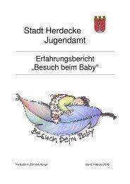 Erfahrungsbericht 2010 - Stadt Herdecke