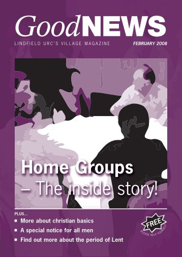 Home Groups – The inside story! - Lindfield United Reformed Church