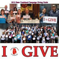 2012 SCC Brochure.indd - State Combined Campaign