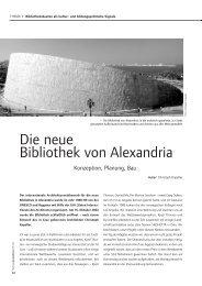 Die neue Bibliothek von Alexandria