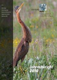 Jahresbericht 2010 - Umweltgruppe Hindelbank