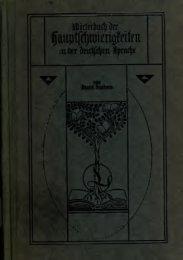 Wörterbuch der Hauptschwierigkeiten in der deutschen Sprache