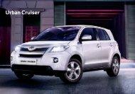 Urban Cruiser - Toyota Forms: Toyota Prospekt