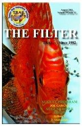 THE FILTER - Tampa Bay Aquarium Society