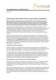 Pressemitteilung - Swiss Handicap