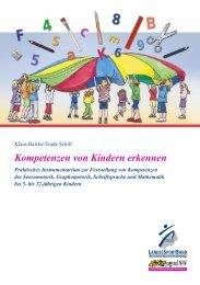 Kompetenzen von Kindern erkennen - Praktisches ... - Sichere Kita