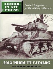 Product Catalog PDF - Armor Plate Press