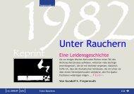 Reprint Unter Rauchern - Gundolf S. Freyermuth