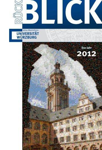 2012 (pdf 7 MB) - Universität Würzburg
