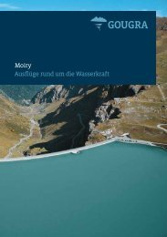 Ausflug zur Moiry Staumauer PDF (1.2 MB) - Alpiq