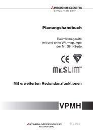 Planungshandbuch der Mr. Slim Serie - Breeze24.com