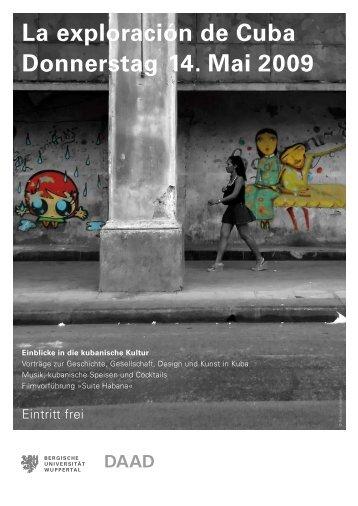 La exploración de Cuba Donnerstag 14. Mai 2009 - Designtheorie ...
