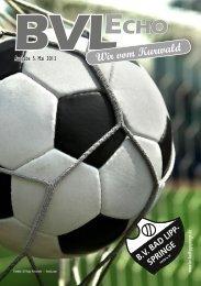 Mai Ausgabe 1 - BV Bad Lippspringe