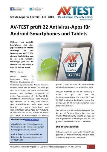 9 free Magazines from AV TEST ORG