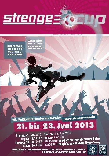 Bisherige Strenge-Cup-Gewinner - Strenge-Cup 2013