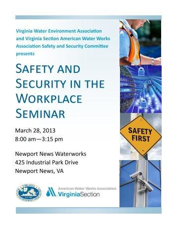 flyer! - Virginia Water Environment Association