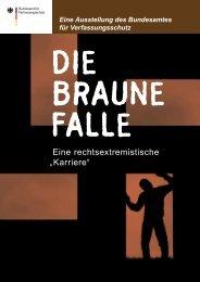DIE BRAUNE FALLE - Bundesamt für Verfassungsschutz