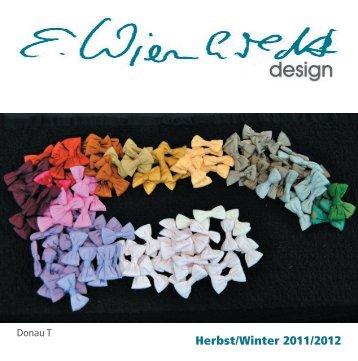 Herbst/Winter 2011/2012 - Wienholdt Design