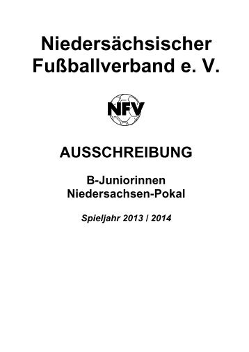 Ausschreibung des NFV-Verbandsjugendausschusses ( VJA )