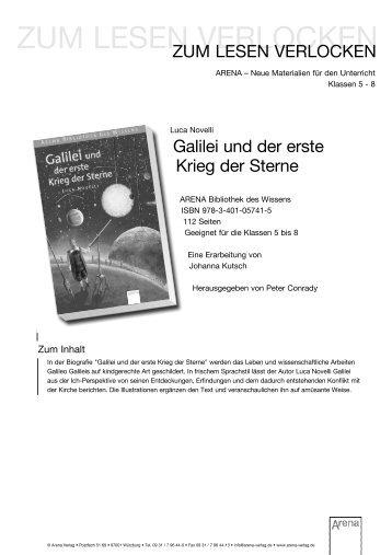 ZUM LESEN VERLOCKEN - ARENA Verlag
