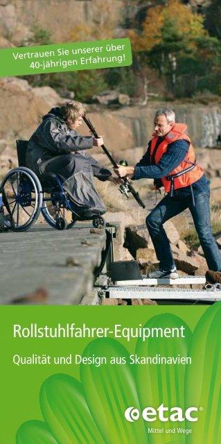 Rollstuhlfahrer-Equipment - Etac