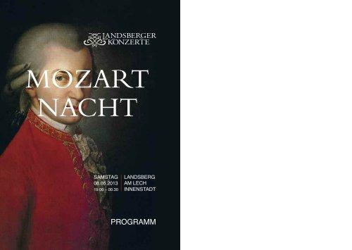 Programmheft - Landsberger Konzerte