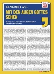 MIT DEN AuGEN GOTTES SEHEN - Gemeinschaft und Befreiung ...