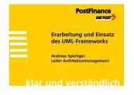 klar und verständlich - Berner Architekten Treffen