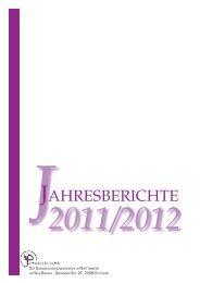 JAHRESBERICHTE - Evangelisches Bildungszentrum