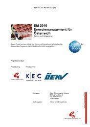Politikanalyse - Österreichische Energieagentur