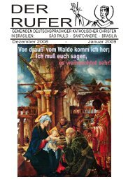 DER RUFER - Sankt Bonifatius