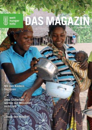 Das Magazin - Welthungerhilfe