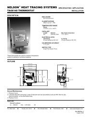 TA4X140 Thermostat, Specification/Application - Emerson Industrial ...