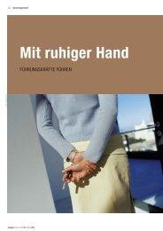Aktueller Pressebericht - 3P Beratungs-Gruppe Nürnberg
