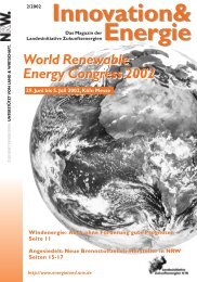 World Renewable Energy Congress 2002 World Renewable Energy ...