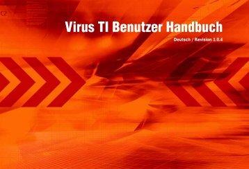Virus TI Benutzer Handbuch