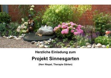 Projekt Sinnesgarten - Altenzentrum Porz-Urbach