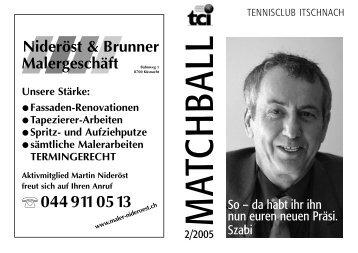 2 - 2005 - Tennisclub Itschnach