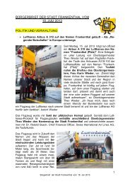 Bürgerbrief vom 18.07.2013 - Stadt Frankenthal