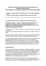 Endoskopische Terminologie - Grafino.at